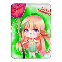 Happy Mother s Day Furry Girl Samsung Galaxy Tab 4 (10 1 ) Hardshell Case  by Catifornia