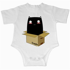Black Cat In A Box Infant Creepers by Catifornia