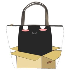 Black Cat In A Box Bucket Bags by Catifornia