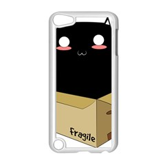 Black Cat In A Box Apple Ipod Touch 5 Case (white) by Catifornia