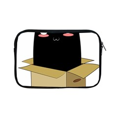 Black Cat In A Box Apple Ipad Mini Zipper Cases by Catifornia