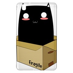 Black Cat In A Box Samsung Galaxy Tab Pro 8 4 Hardshell Case by Catifornia