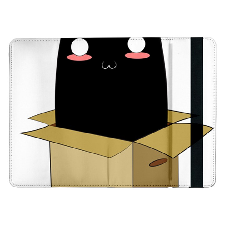 Black Cat in a Box Samsung Galaxy Tab Pro 12.2  Flip Case