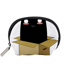 Black Cat In A Box Accessory Pouches (small)  by Catifornia