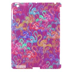 Flamingo Pattern Apple Ipad 3/4 Hardshell Case (compatible With Smart Cover) by Valentinaart