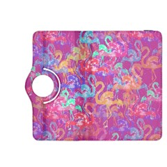 Flamingo Pattern Kindle Fire Hdx 8 9  Flip 360 Case by Valentinaart