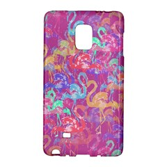 Flamingo Pattern Galaxy Note Edge by Valentinaart
