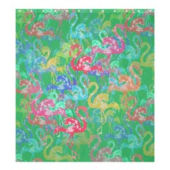 Flamingo Pattern Shower Curtain 66  X 72  (large)  by Valentinaart