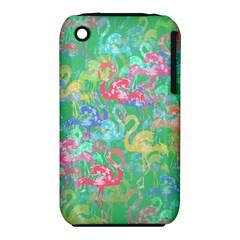 Flamingo Pattern Iphone 3s/3gs by Valentinaart