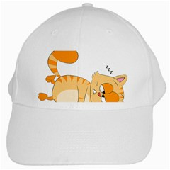 Even Cat Hates Monday White Cap by Catifornia