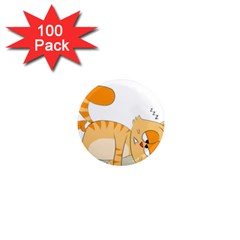 Even Cat Hates Monday 1  Mini Magnets (100 Pack)  by Catifornia