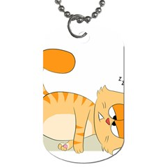 Even Cat Hates Monday Dog Tag (two Sides) by Catifornia