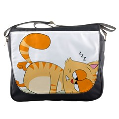 Even Cat Hates Monday Messenger Bags by Catifornia