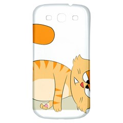 Even Cat Hates Monday Samsung Galaxy S3 S Iii Classic Hardshell Back Case by Catifornia