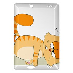 Even Cat Hates Monday Amazon Kindle Fire Hd (2013) Hardshell Case by Catifornia