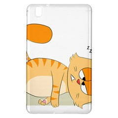 Even Cat Hates Monday Samsung Galaxy Tab Pro 8 4 Hardshell Case by Catifornia