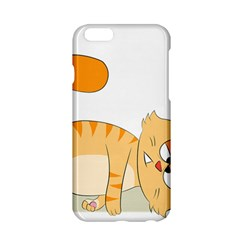 Even Cat Hates Monday Apple Iphone 6/6s Hardshell Case by Catifornia