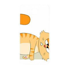 Even Cat Hates Monday Samsung Galaxy Alpha Hardshell Back Case by Catifornia