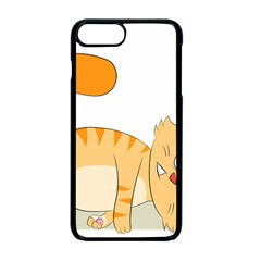 Even Cat Hates Monday Apple Iphone 7 Plus Seamless Case (black) by Catifornia