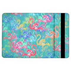 Flamingo pattern iPad Air Flip by Valentinaart