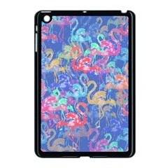 Flamingo Pattern Apple Ipad Mini Case (black) by Valentinaart