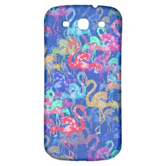 Flamingo Pattern Samsung Galaxy S3 S Iii Classic Hardshell Back Case by Valentinaart