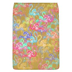 Flamingo Pattern Flap Covers (l)  by Valentinaart