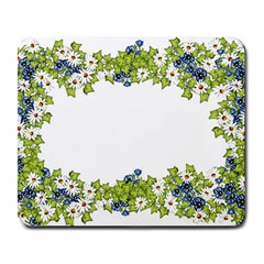 Birthday Card Flowers Daisies Ivy Large Mousepads
