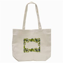 Birthday Card Flowers Daisies Ivy Tote Bag (cream) by Nexatart