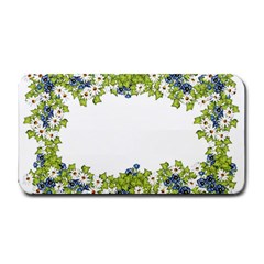 Birthday Card Flowers Daisies Ivy Medium Bar Mats
