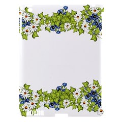 Birthday Card Flowers Daisies Ivy Apple Ipad 3/4 Hardshell Case (compatible With Smart Cover)