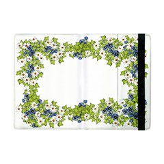 Birthday Card Flowers Daisies Ivy Apple Ipad Mini Flip Case