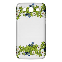 Birthday Card Flowers Daisies Ivy Samsung Galaxy Mega 5 8 I9152 Hardshell Case