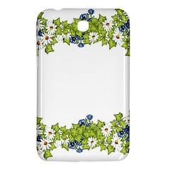 Birthday Card Flowers Daisies Ivy Samsung Galaxy Tab 3 (7 ) P3200 Hardshell Case