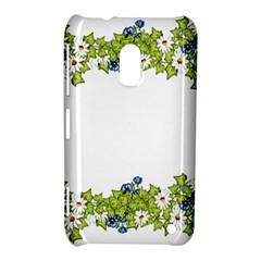 Birthday Card Flowers Daisies Ivy Nokia Lumia 620 by Nexatart
