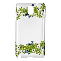 Birthday Card Flowers Daisies Ivy Samsung Galaxy Note 3 N9005 Hardshell Case by Nexatart