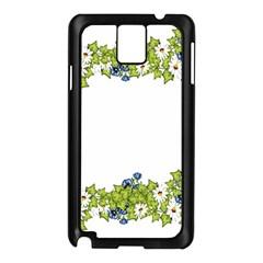 Birthday Card Flowers Daisies Ivy Samsung Galaxy Note 3 N9005 Case (black) by Nexatart