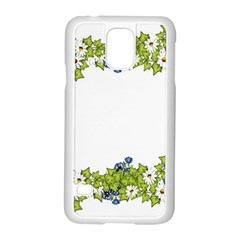 Birthday Card Flowers Daisies Ivy Samsung Galaxy S5 Case (white)