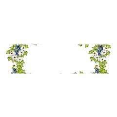 Birthday Card Flowers Daisies Ivy Satin Scarf (oblong)