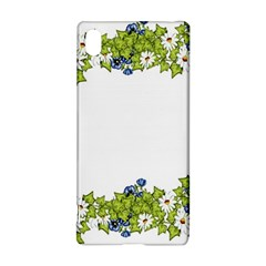 Birthday Card Flowers Daisies Ivy Sony Xperia Z3+ by Nexatart
