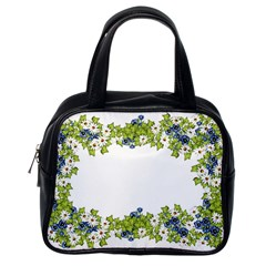 Birthday Card Flowers Daisies Ivy Classic Handbags (one Side) by Nexatart