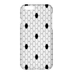 Black White Hexagon Dots Apple Iphone 6 Plus/6s Plus Hardshell Case by Mariart