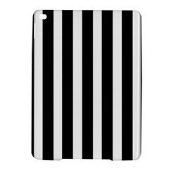 Black White Line Vertical Ipad Air 2 Hardshell Cases by Mariart