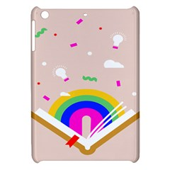 Books Rainboe Lamp Star Pink Apple Ipad Mini Hardshell Case by Mariart