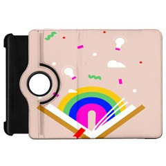 Books Rainboe Lamp Star Pink Kindle Fire Hd 7  by Mariart