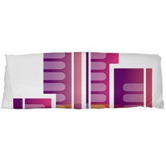 Building Body Pillow Case Dakimakura (two Sides) by Mariart