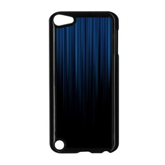 Black Blue Line Vertical Space Sky Apple Ipod Touch 5 Case (black) by Mariart