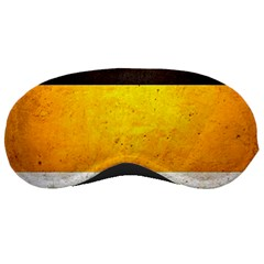 Wooden Board Yellow White Black Sleeping Masks by Mariart