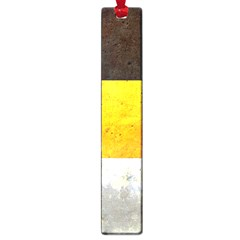 Wooden Board Yellow White Black Large Book Marks by Mariart