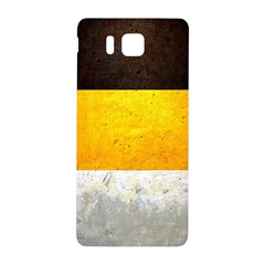 Wooden Board Yellow White Black Samsung Galaxy Alpha Hardshell Back Case by Mariart